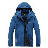 Hanxue Mens Hiking Ski Mountaineering Jacket Softshell Hiking Raincoat Plus Size Men Waterproof Sportswear Blue XXXL - http://www.skigearoutdoor.com/hanxue-mens-hiking-ski-mountaineering-jacket-softshell-hiking-raincoat-plus-size-men-waterproof-sportswear-blue-xxxl/  Find the best Ski Gear  http://www.skigearoutdoor.com click here