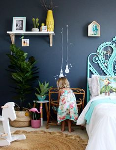 Pantone - Greenery |kids bedroom ideas
