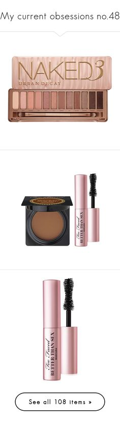 """My current obsessions no.48"" by aleksa ❤ liked on Polyvore featuring beauty products, makeup, eye makeup, eyeshadow, beauty, fillers, cosmetics, blending brush eyeshadow, urban decay eye makeup and pencil eyeliner"