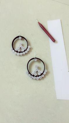 Quilling Earrings ☺️