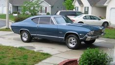 1968 Chevy Malibu-looks a lot like the one we had as kids.