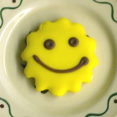 THE Happy Face Cookie - from Smith's Bakery in Bakersfield, CA