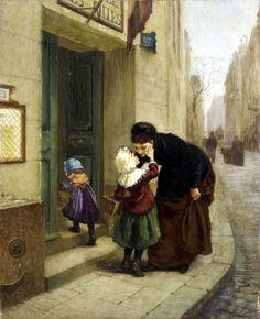 Carlton Alfred Smith (British, 1853-1946) - Welford on Avon