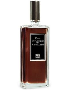 Fille en Aiguilles by Serge Lutens.  Hot damn this one is good.  Incense, pine sap, wood, with - I swear - a hint of caramel?  Whether the needles refer to stilettos, or pine needles, or tattoo needles, I love it.