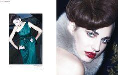JEWEL Simona Antonovic make-up / Dark red lips