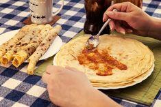 A legjobb palacsintatészta Recept képpel - Mindmegette.hu - Receptek Sweets Cake, Cake Cookies, Cake Recipes, Pancakes, Baking, Eat, Ethnic Recipes, Food, Pizza