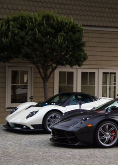 Pagani Huayra and Zonda