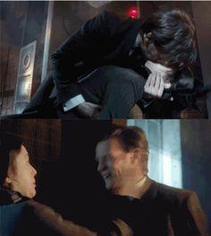 Doctor Who - the Doctor kisses Jenny and she slaps him - The Crimson Horror - season 7 - Matt Smith