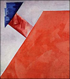 Olga Rozanova - Non-Objective Composition 1917
