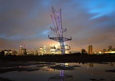 For this year's London Design Festival, British sculptor Alex Chinneck has created A Bullet from a Shooting Star, an outdoor installation at Greenwich Peninsula.