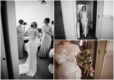 Sarah and Del's Rustic Travel Themed Scottish Wedding with a Claire Pettibone Dress By Christopher Currie