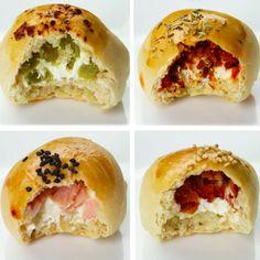 Bread Recipes, Baking Recipes, Dessert Recipes, Pan Relleno, Samosa Recipe, Easy Cooking, Sandwiches, Bakery, Brunch
