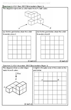 Plans And Elevations Teaching Pinterest Isometric Drawing