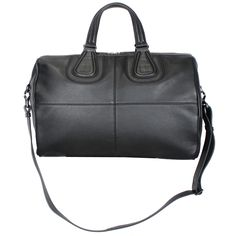 6e69841fcde5 Nightingale Boston Bag Briefcase in Black. RICCARDI