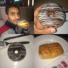 Eating Donuts