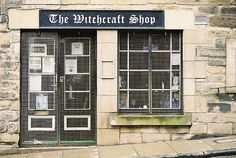 Witchcraft Shop in Candlemaker Row in Edinburgh, it's a really fun and interesting shoppe!