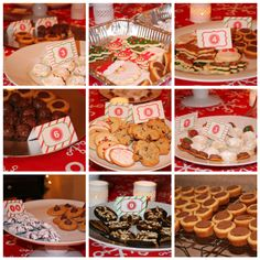 The Cookie Exchange Party was a great night with friends! I loved seeing the variety of cookies people brought..so fun. And I was so impressed with their baking skills! everything w…