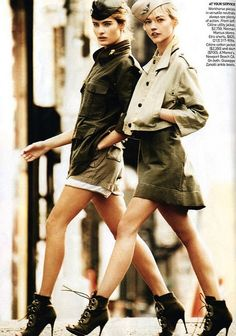 Vogue Military Style