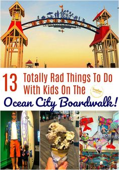 13 Totally Rad Things To Do With Kids On The Ocean City Boardwalk! You are in the right place about Washington map Here we offer you the most beautiful pictures about the Washington illustration you a Ocean City Boardwalk, Ocean City Md, Travel With Kids, Family Travel, Family Vacations, Stuff To Do, Things To Do, Day Trips, Weekend Trips