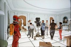 Behind the scenes of 2001 A Space Odyssey