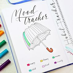This is going to be one colorful umbrella! . . #plannermom #bulletjournal #bulletjournaling #bulletjournaljunkies #bujojunkies #bulletjournalcommunity #bujolove #showmeyourplanner #bulletjournallove #bujoinspire #planner #planning #planneraddict #bujo #plannernerd #handlettered #handlettering #calligraphy #leuchtturm1917 #moderncalligraphy #lettering #plannergirl