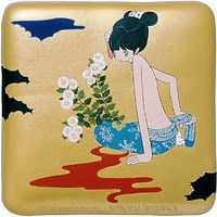 I love painted panels - and one of my favorite artists ai yamaguchi