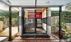 Allround space Project: Harwyn Pods, Abbotsford, Victoria   Australia Architects: Selwyn Blackstone, Armadale, Victoria   Australia Construction: Cassettes  Product: ALUCOBOND® various colours Photos: Harwyn   Chris Daile