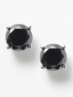 Can't go wrong with black diamond studs