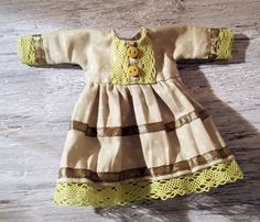 Шьем милое платье для куклы: публикации и мастер-классы – Ярмарка Мастеров