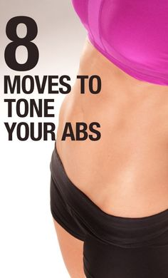 Rock Your Core With These 8 Moves // #abs #workout #fitness #exercise ¥