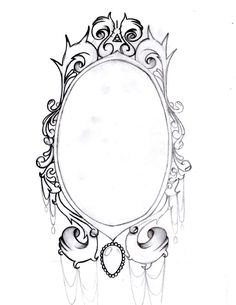 Vintage Mirror frame by AimStar.deviantart.com on @deviantART