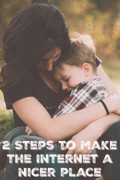 Make the internet a nicer place for moms. These 2 steps could be  life changing.
