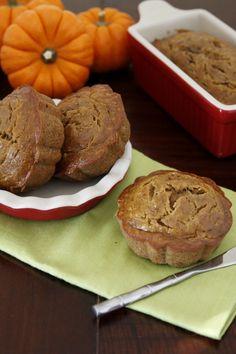 Banana Nutella Pumpkin Muffins