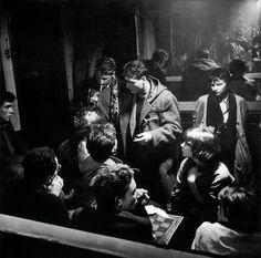 café Chez Moineau Rue du Four, Paris, France Photos by Ed Van der Elsken Patti Smith, Photo Book, Photo Art, Beatnik Style, Amsterdam, Youth Culture, Paris Photos, Australian Artists, Book Photography
