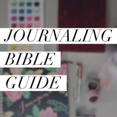 Need a road map to journal through your Bible? Check out this list of beautiful verses for meditation and illustration!