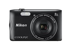 Nikon 20.1 COOLPIX A300 Hybrid with 2.7-Inch LCD, Black (26520)