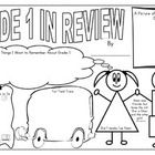 This poster is a fun way to have your grade 1 students reflect on their school year: The following download includes:   1 - 11 x 17 poster (English...
