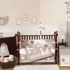 Little Lamb 9 pc Crib Bedding set