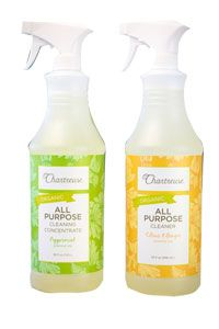 "Chartreuse Organic All-Purpose Cleaner-- BEST ""green"" cleaner I've tried!  Small start-up company founded by a bay area mom.  These cleaning products do NOT disappoint!"