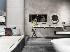 Bäder/Wellness | Mayr & Glatzl Innenarchitektur GmbH | Mayr & Glatzl Innenarchitektur GmbH Bathtub, Inspiration, Bathroom, Wellness, Interiors, Full Bath, Interior Designing, Standing Bath, Biblical Inspiration
