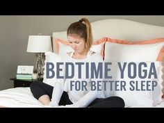 Bedtime Yoga: Stretch Your Way to Better Sleep | Crane & Canopy | Blog