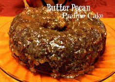 Butter Pecan Praline Cake!