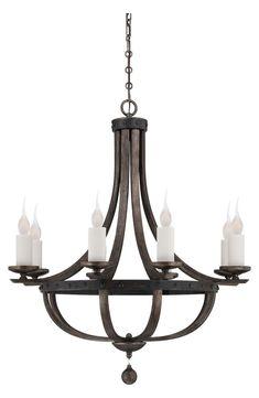 Savoy House Lighting - Alsace 8 Light Chandelier - In Reclaimed Wood Finish Luxury Chandelier, Bronze Chandelier, Candle Chandelier, Antique Chandelier, Chandelier Lighting, Chandeliers, House Lighting, Antique Hardware, Ceiling Lights