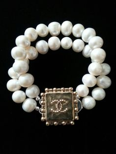Chanel Button Bracelet Repurposed Vintage Designsbyz Instagram