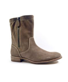 Take a look at this Latte Suede Toluca Boot by Splendid on #zulily today!