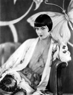 When he sees Phryne, Mr. Lin says she is so like one of his own people and yet so different.  Louise Brooks