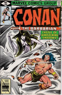 Conan the Barbarian 1970 Marvel 105 December 1979 by ViewObscura