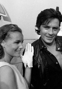 """"""" Romy Schneider & Alain Delon"""