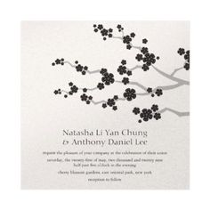 Faire part zen yin yang or cartons dinvitation mariage pinterest easy to customize with your own text and image all text and background color can be changed great as an invitation announcement save the date thank stopboris Image collections