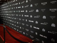 Step and Repeat background for party or wedding guests.  Photography opportunity